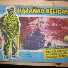 Tebeos: HAZAÑAS BÉLICAS, NºVOL 13 POR: BOIXCAR-EDC: TORAY-ORIGINAL,AÑO 1958. Lote 55902693