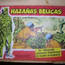 Tebeos: HAZAÑAS BÉLICAS, Nº12 POR: BOIXCAR-EDC: TORAY-ORIGINAL,AÑO 1958. Lote 55904946