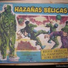 Tebeos: HAZAÑAS BÉLICAS, Nº EXTRA 90 - VOL 19 POR: BOIXCAR-EDC: TORAY-ORIGINAL,AÑO 1958. Lote 55906388