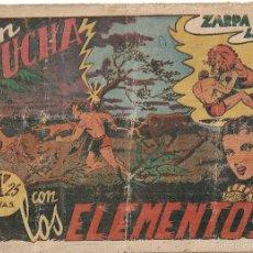 Tebeos: ZARPA DE LEÓN Nº 5. EN LUCHA CON LOS ELEMENTOS. EDITORIAL TORAY. ORIGINAL 1.949. Lote 56015358