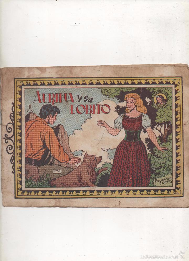 AURINA Y SU LOBITO.AZUCENA Nº58.TORAY.DA (Tebeos y Comics - Toray - Azucena)