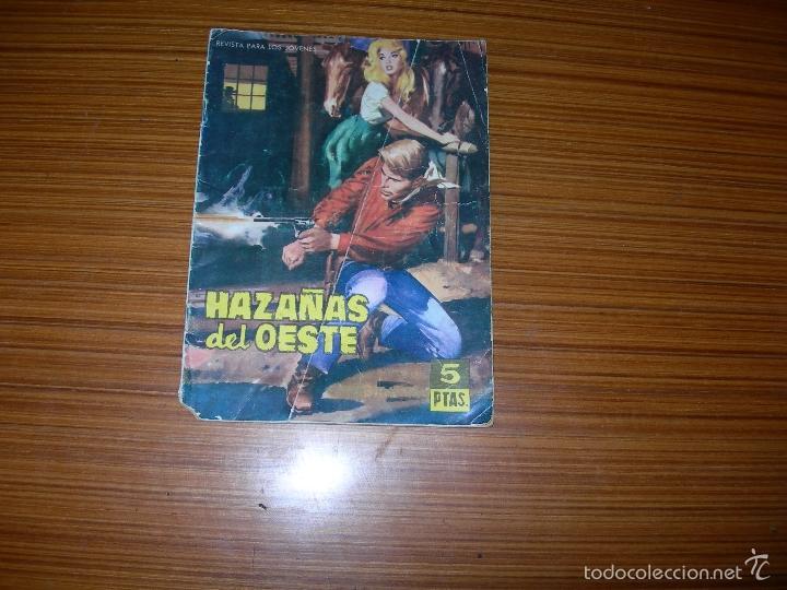 HAZAÑAS DEL OESTE Nº 37 EDITA TORAY (Tebeos y Comics - Toray - Hazañas del Oeste)