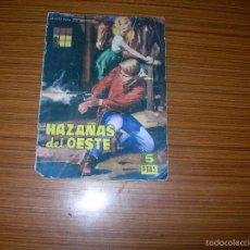 Tebeos: HAZAÑAS DEL OESTE Nº 37 EDITA TORAY . Lote 56108587