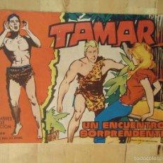 Tebeos: CÓMIC TAMAR HOMBRES DE ACCIÓN 58 UN ENCUENTRO SORPRENDENTE EDICIONES TORAY LOS ANIMALES Y SU MUNDO. Lote 56220233