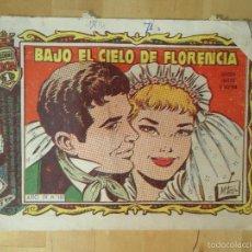 Tebeos: CÓMIC COLECCIÓN ALICIA AÑO IV Nº 183 BAJO EL CIELO DE FLORENCIA REVISTA JUVENIL FEMENINA. Lote 174901777