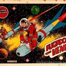 Tebeos: EL MUNDO FUTURO Nº 34: FUGADOS DE VENUS. DE BOIXCAR (TORAY, 1955). Lote 56238229