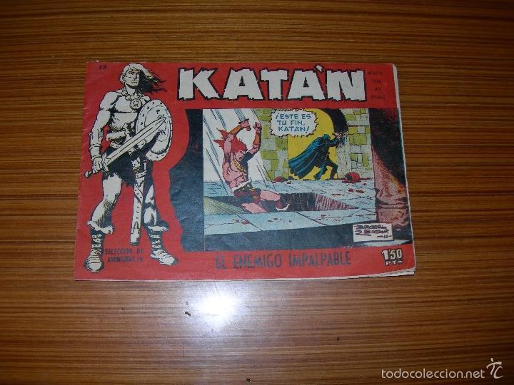 KATAN Nº 13 EDITA TORAY (Tebeos y Comics - Toray - Katan)