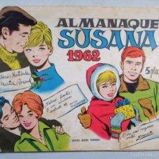 Tebeos: ALMANAQUE SUSANA 1962 , NAVIDADES , REVISTA JUVENIL FEMENINA . Lote 56240132