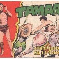 Tebeos: TAMAR ORIGINAL Nº - 110 ,EDITORIAL TORAY 1961, DIBUJO ANTONIO BORRELL - BUEN ESTADO. Lote 56285044