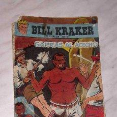 Tebeos: BILL KRAKER Nº 21. GARRAS AL ACECHO. FERRANDO Y ARTÉS. EDICIONES TORAY, 1958. +++. Lote 56548480