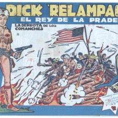 Tebeos: DICK RELAMPAGO ORIGINAL Nº 23 - EDI. TORAY 1959 - DIBUJOS JUAN GARCÍA IRANZO. Lote 56574188