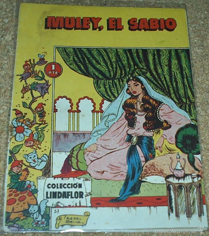LINDAFLOR COLECCION Nº 37 - TORAY 1956 - ORIGINAL- LEER TODO (Tebeos y Comics - Toray - Otros)