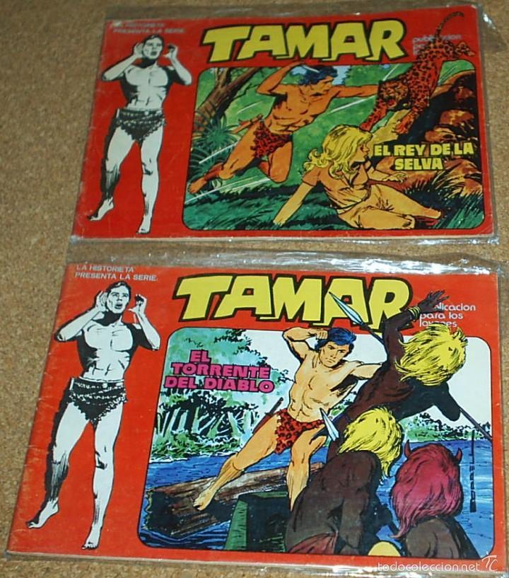 TAMAR URSUS 1980 - LOTE CON LOS NUMEROS 7 Y 8 - BUEN ESTADO. - LEER (Tebeos y Comics - Toray - Tamar)