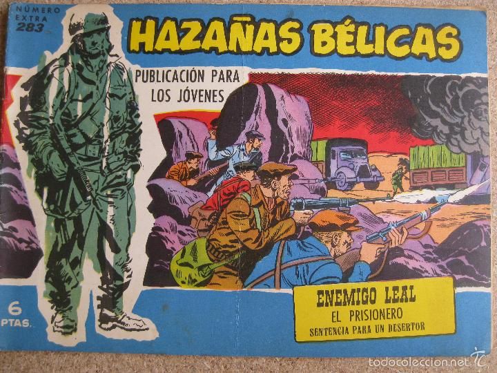 HAZAÑAS BELICAS Nº283 - TORAY ORIGINAL (Tebeos y Comics - Toray - Hazañas Bélicas)