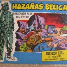 BDs: HAZAÑAS BELICAS Nº283 - TORAY ORIGINAL. Lote 57115331