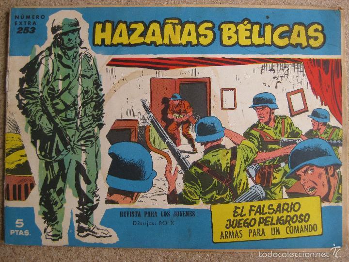 HAZAÑAS BELICAS Nº253 - TORAY ORIGINAL (Tebeos y Comics - Toray - Hazañas Bélicas)