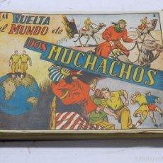 Tebeos: LA VUELTA AL MUNDO DE DOS MUCHACHOS Y RAYO KIT, LAS DOS COLECCIONES COMPLETAS Y ENCUADERNADAS EN UN. Lote 56610924