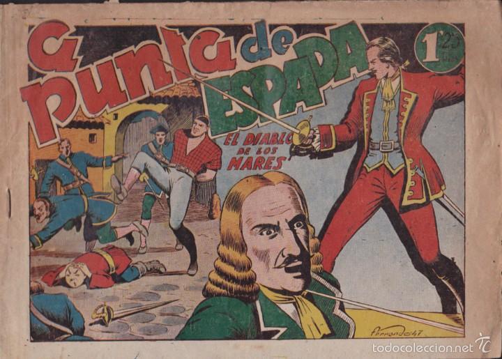 COMIC COLECCION EL DIABLO DE LOS MARES Nº 47 (Tebeos y Comics - Toray - Diablo de los Mares)