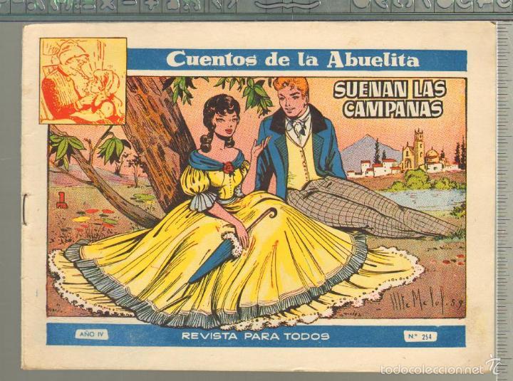 TEBEOS-COMICS GOYO - CUENTOS DE LA ABUELITA - Nº 254 - 1955 - DIFICIL *AA99 (Tebeos y Comics - Toray - Cuentos de la Abuelita)