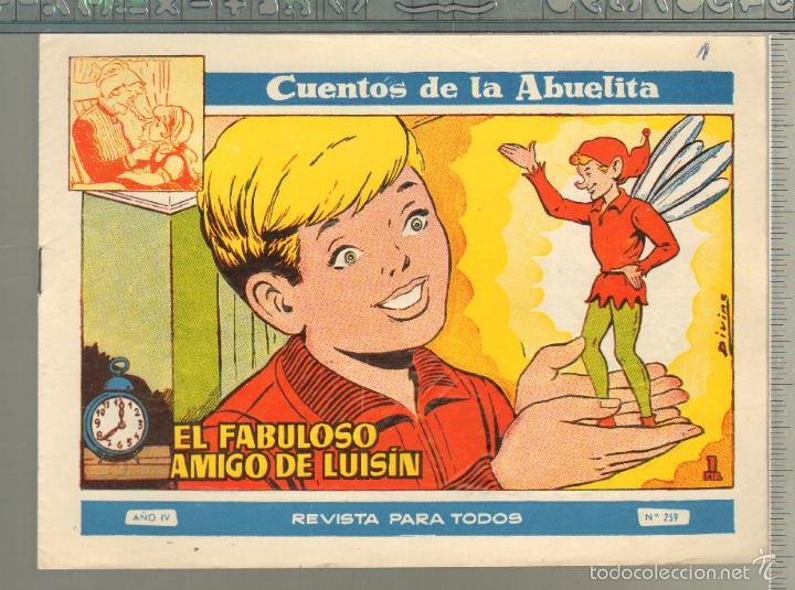 TEBEOS-COMICS GOYO - CUENTOS DE LA ABUELITA - Nº 259 - 1955 - DIFICIL *AA99 (Tebeos y Comics - Toray - Cuentos de la Abuelita)