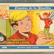 Tebeos: TEBEOS-COMICS GOYO - CUENTOS DE LA ABUELITA - Nº 259 - 1955 - DIFICIL *AA99. Lote 57493866