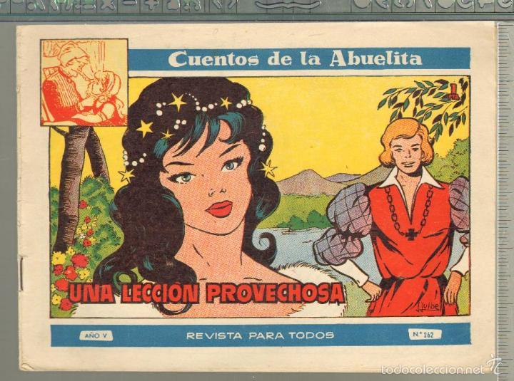 TEBEOS-COMICS GOYO - CUENTOS DE LA ABUELITA - Nº 262 - 1955 - DIFICIL *UU99 (Tebeos y Comics - Toray - Cuentos de la Abuelita)