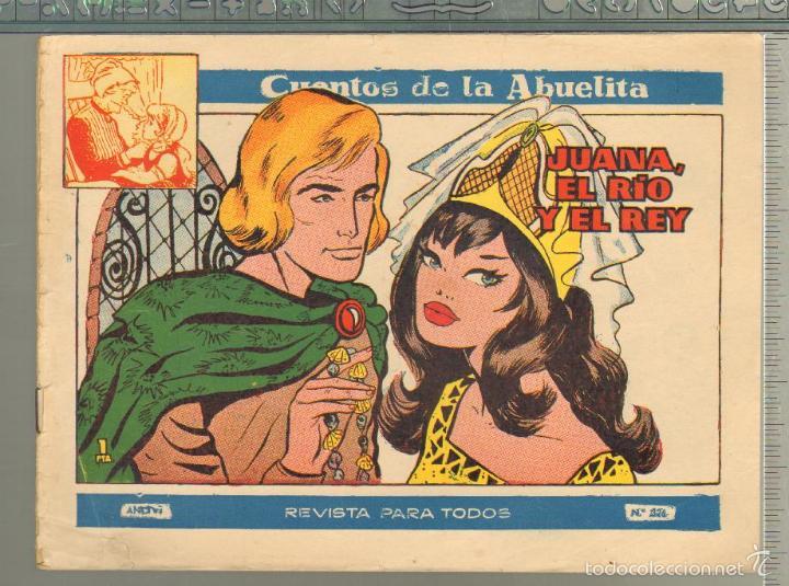 TEBEOS-COMICS GOYO - CUENTOS DE LA ABUELITA - Nº 326 - 1955 - DIFICIL *UU99 (Tebeos y Comics - Toray - Cuentos de la Abuelita)