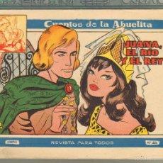 Tebeos: TEBEOS-COMICS GOYO - CUENTOS DE LA ABUELITA - Nº 326 - 1955 - DIFICIL *UU99. Lote 57493978