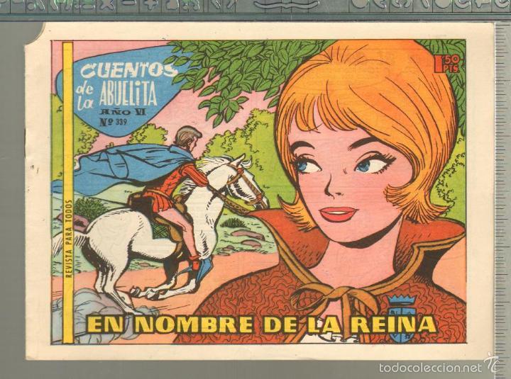 TEBEOS-COMICS GOYO - CUENTOS DE LA ABUELITA - Nº 339 - 1955 - DIFICIL *AA99 (Tebeos y Comics - Toray - Cuentos de la Abuelita)