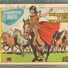 Tebeos: TEBEOS-COMICS GOYO - CUENTOS DE LA ABUELITA - Nº 356 - 1955 - DIFICIL *AA99. Lote 57494073