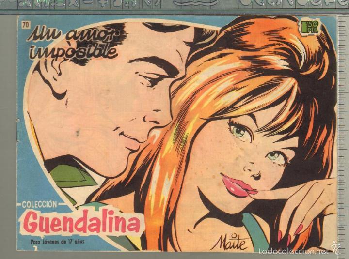 TEBEOS-COMICS GOYO - GUENDALINA - Nº 70 - TORAY - 1959 - DIFICIL *AA99 (Tebeos y Comics - Toray - Guendalina)