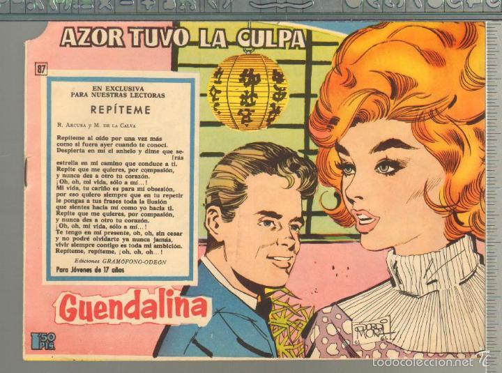 TEBEOS-COMICS GOYO - GUENDALINA - Nº 87 - TORAY - 1959 - DIFICIL *AA99 (Tebeos y Comics - Toray - Guendalina)