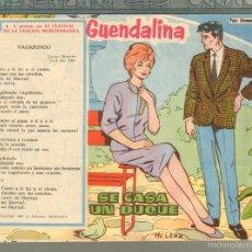 Tebeos: TEBEOS-COMICS GOYO - GUENDALINA - Nº 123 - TORAY - 1959 - DIFICIL *AA99. Lote 57497376