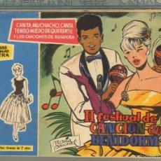 Tebeos: TEBEOS-COMICS GOYO - ROSAS BLANCAS - EXTRA 2º FESTIVAL CANCION BENIDORM - TORAY 1958 - DIFICIL *AA99. Lote 57498069