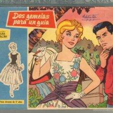 Tebeos: TEBEOS-COMICS GOYO - ROSAS BLANCAS - Nº 55 - TORAY 1958 - DIFICIL *AA99. Lote 57498105