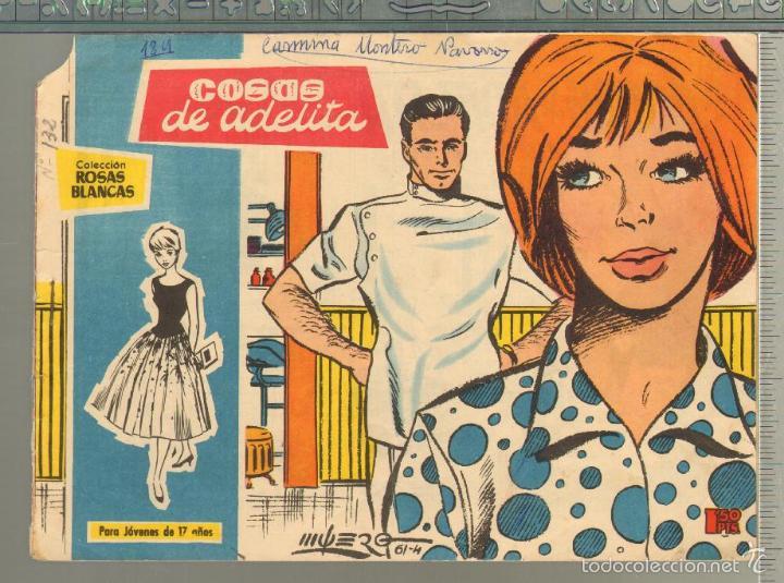 TEBEOS-COMICS GOYO - ROSAS BLANCAS - Nº 132 - TORAY 1958 - DIFICIL *AA99 (Tebeos y Comics - Toray - Otros)