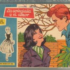 Tebeos: TEBEOS-COMICS GOYO - ROSAS BLANCAS - Nº 134 - TORAY 1958 - MUY DIFICIL *AA99. Lote 57498183
