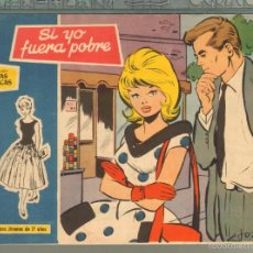 Tebeos: TEBEOS-COMICS GOYO - ROSAS BLANCAS - Nº 137 - TORAY 1958 - DIFICIL *AA99. Lote 57498195