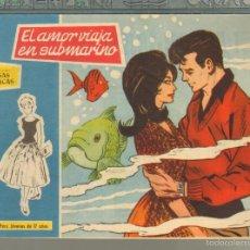 Tebeos: TEBEOS-COMICS GOYO - ROSAS BLANCAS - Nº 152 - TORAY 1958 - MUY DIFICIL *AA99. Lote 57498222