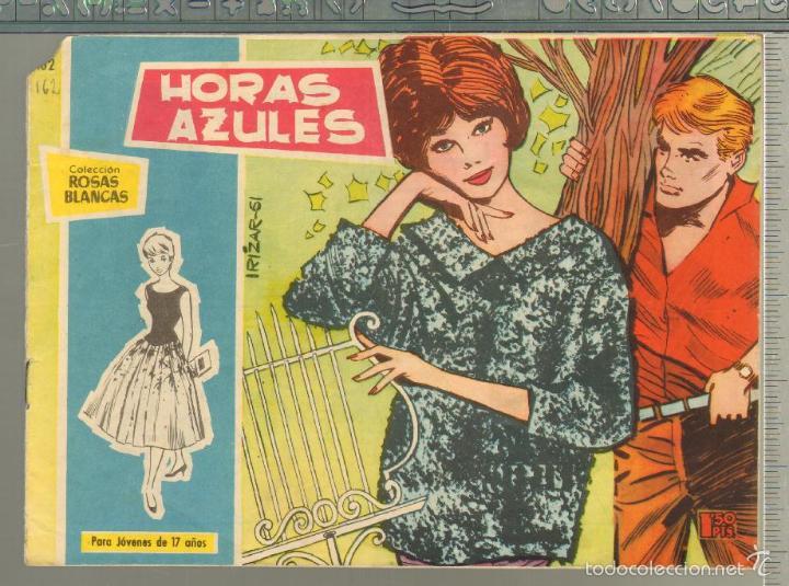 TEBEOS-COMICS GOYO - ROSAS BLANCAS - Nº 162 - TORAY 1958 - MUY DIFICIL *AA99 (Tebeos y Comics - Toray - Otros)