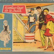 Tebeos: TEBEOS-COMICS GOYO - ROSAS BLANCAS - Nº 167 - TORAY 1958 - MUY DIFICIL *AA99. Lote 57498271
