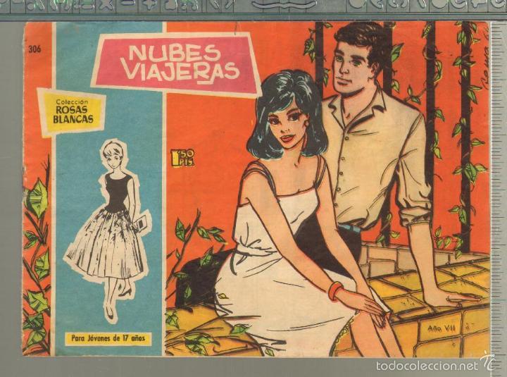 TEBEOS-COMICS GOYO - ROSAS BLANCAS - Nº 306 - TORAY 1958 - MUY DIFICIL *AA99 (Tebeos y Comics - Toray - Otros)