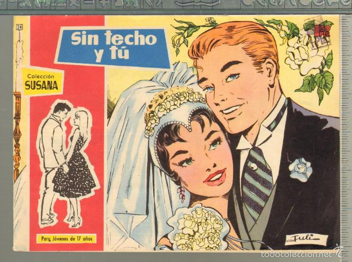 TEBEOS-COMICS GOYO - SUSANA - Nº 24 - TORAY - 1959 - MUY DIFICIL *AA99 (Tebeos y Comics - Toray - Otros)
