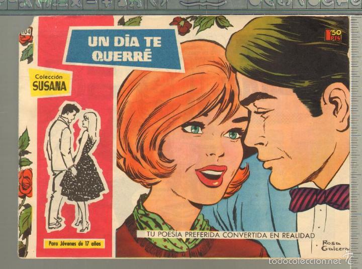TEBEOS-COMICS GOYO - SUSANA - Nº 104 - TORAY - 1959 - MUY DIFICIL *AA99 (Tebeos y Comics - Toray - Otros)