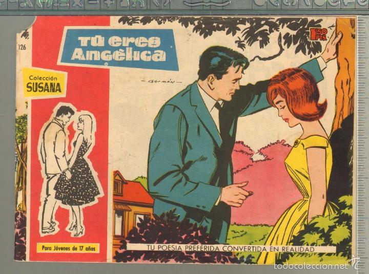 TEBEOS-COMICS GOYO - SUSANA - Nº 126 - TORAY - 1959 - MUY DIFICIL *AA99 (Tebeos y Comics - Toray - Otros)