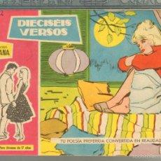 Tebeos: TEBEOS-COMICS GOYO - SUSANA - Nº 132 - TORAY - 1959 - MUY DIFICIL *AA99. Lote 57498806