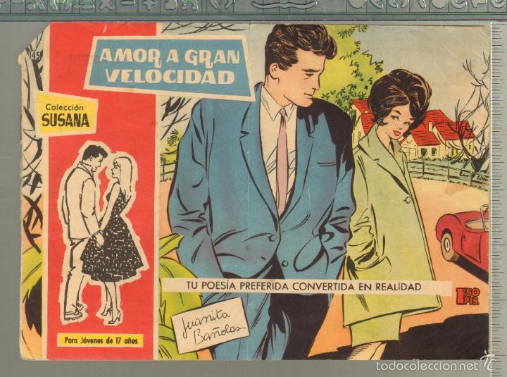 TEBEOS-COMICS GOYO - SUSANA - Nº 145 - TORAY - 1959 - MUY DIFICIL *AA99 (Tebeos y Comics - Toray - Otros)