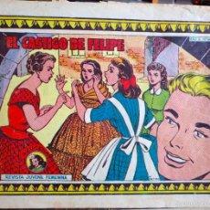 Tebeos: EL CASTIGO DE FELIPE N. 441 (TORAY) ORIGINAL COLECCIÓN AZUCENA. Lote 57499006