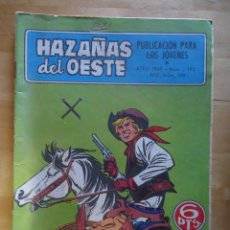 Tebeos: CÓMIC ANTIGUO HAZAÑAS DEL OESTE AÑO 1969 NÚM 193 LOS ESTAFADORES EDICIONES TORAY, S.A. WESTERN. Lote 57508575