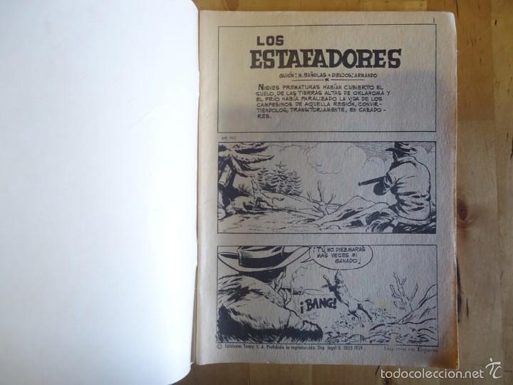 Tebeos: CÓMIC ANTIGUO HAZAÑAS DEL OESTE AÑO 1969 NÚM 193 LOS ESTAFADORES EDICIONES TORAY, S.A. WESTERN - Foto 2 - 57508575